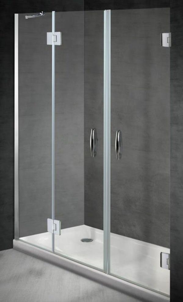 Mampara frontal ducha Bisacris-SB8 (1 hoja fija + 2 abatibles): Servicios y productos de Instal·lacions Davelor
