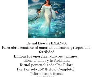 Nuevo Ritual De La Diosa YEMANJA