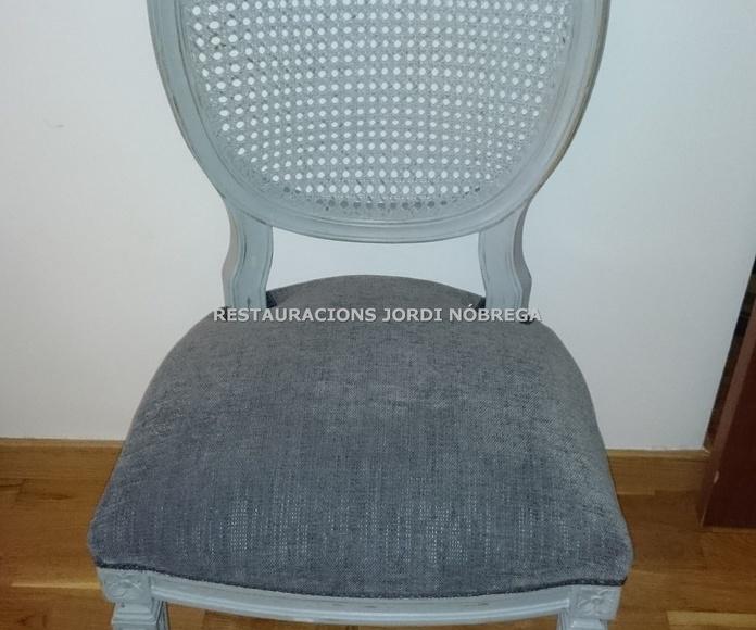 Silla vintage, Restauracions Jordi Nóbrega