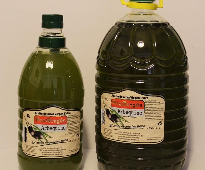 OroAragón: Aceite de Oliva Virgen Extra variedad Arbequino