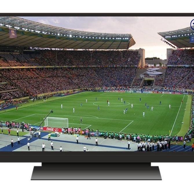 Disfruta del deporte en un buen televisor
