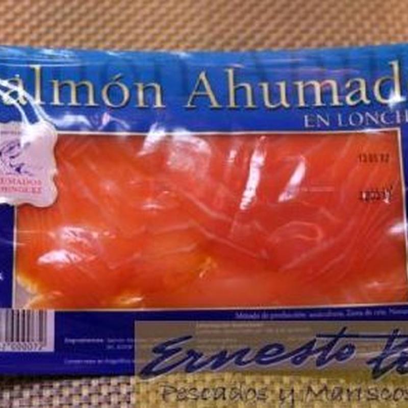 Salmón ahumado: Productos de Ernesto Prieto