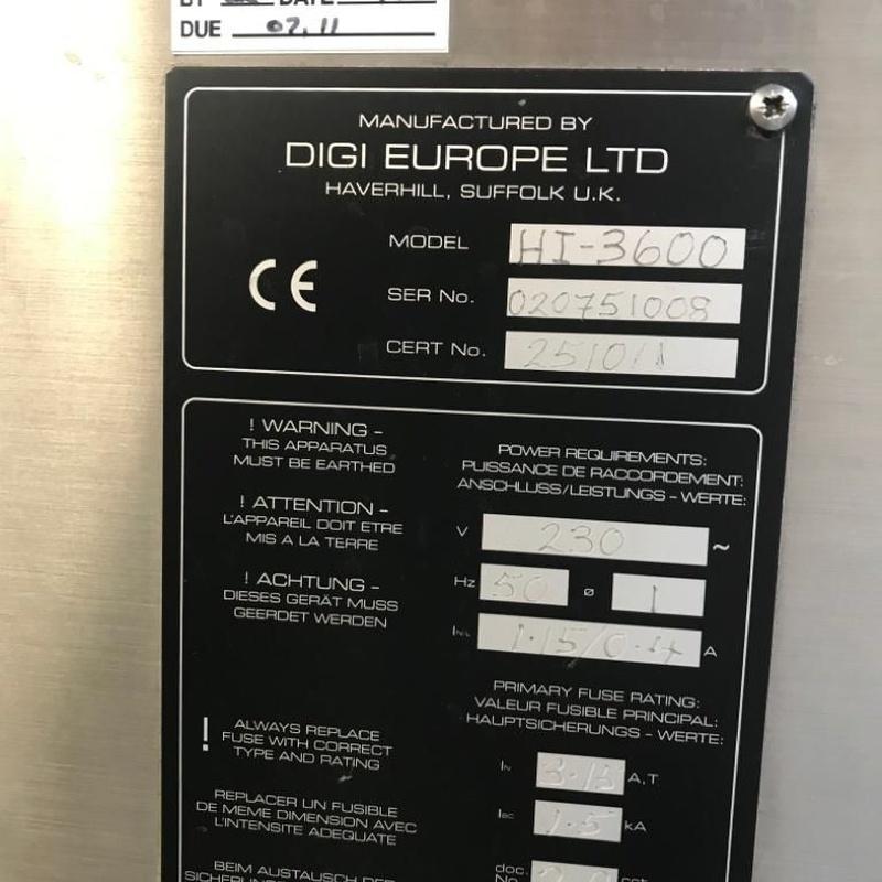 Etiquetadora de adhesivo Digi:  de MAQUIMUR