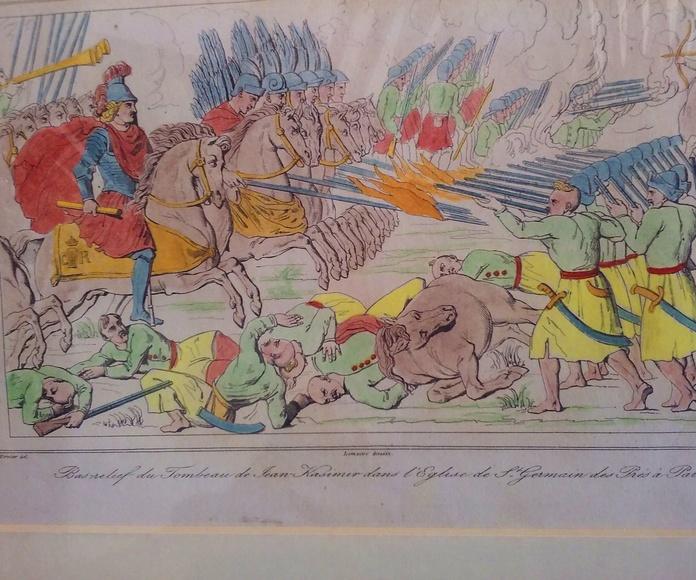GRABADOS Y LITOGRAFIAS ANTIGUAS SXIX: Servicios de Cano 1907