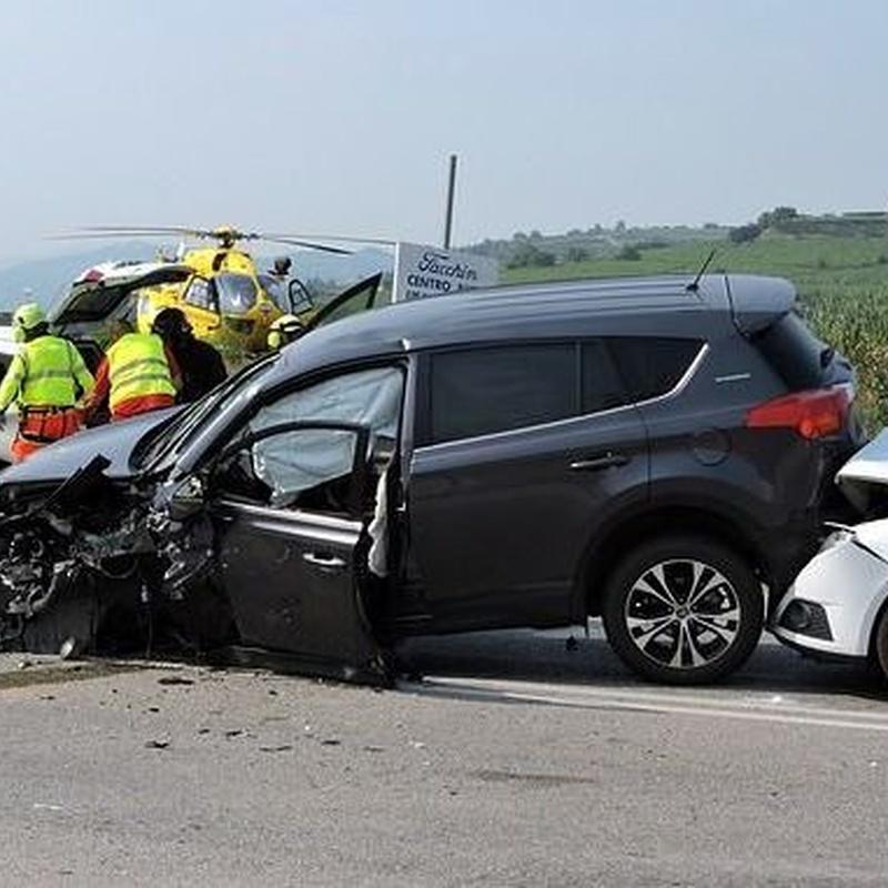 Reclamación Accidentes de Tráfico: Servicios de Iker Marcos Angulo