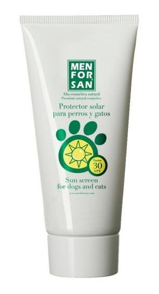 Protector solar para perros y gatos Men for san