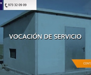 Prefabricados de hormigón en Lleida: Prefabricados Galano