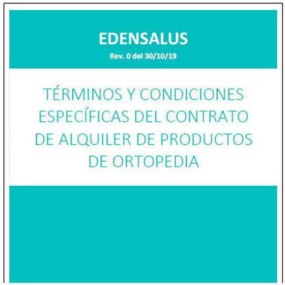 TÉRMINOS Y CONDICIONES ESPECÍFICAS DEL CONTRATO DE ALQUILER DE PRODUCTOS DE ORTOPEDIA