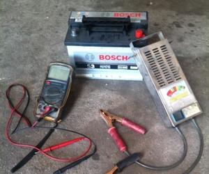 Comprobación y carga de bateria