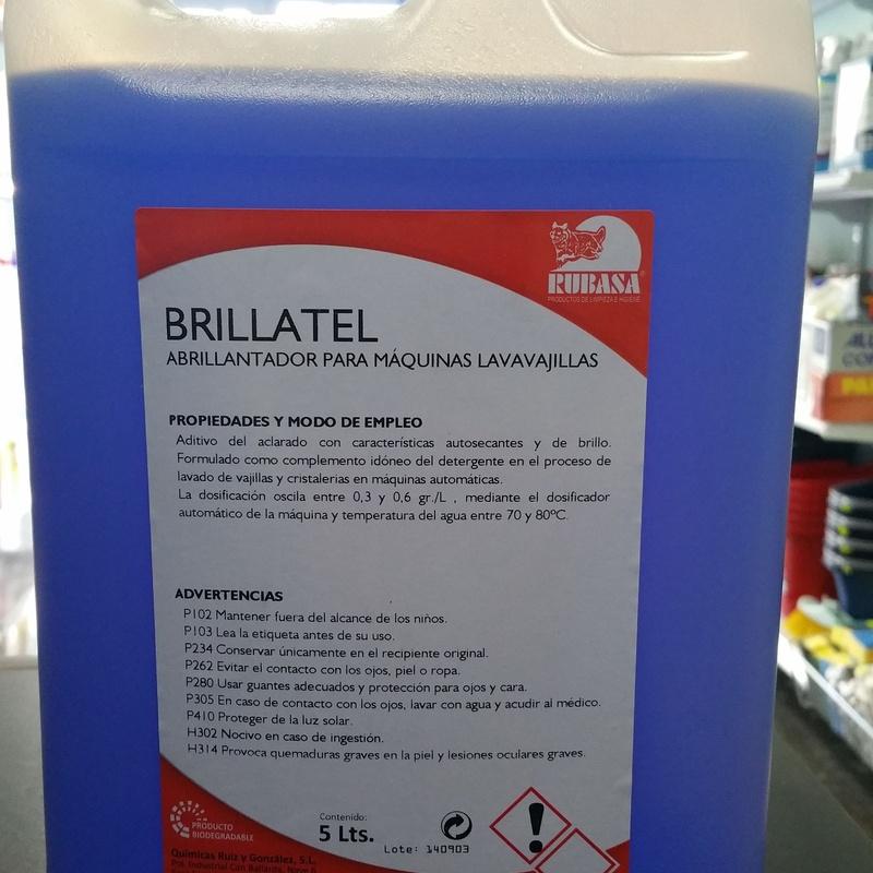 Brillatel Abrillantador lavabajillas 5L: SERVICIOS  Y PRODUCTOS de Neteges Louzado, S.L.