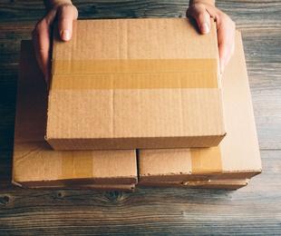 Servicio de paquetería y mensajería