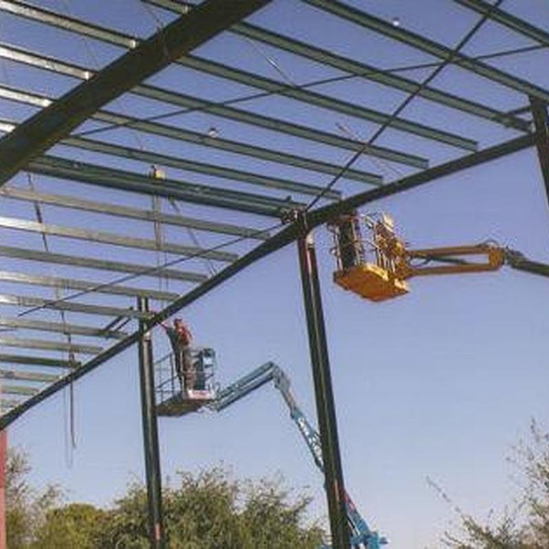 Construcción cubiertas: Productos y Servicios de F Mera - Vejer