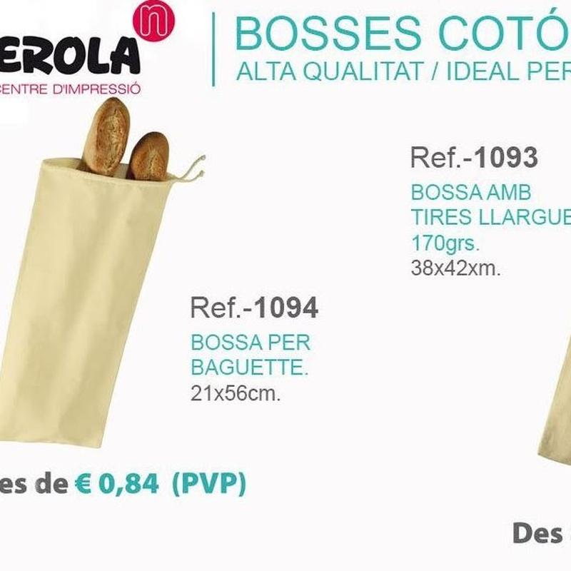 Bolsas de tela Personalizadas en Barcelona