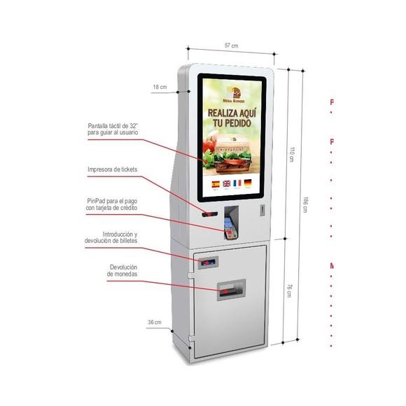 T-Quiosk modelo 230: Productos de Discove
