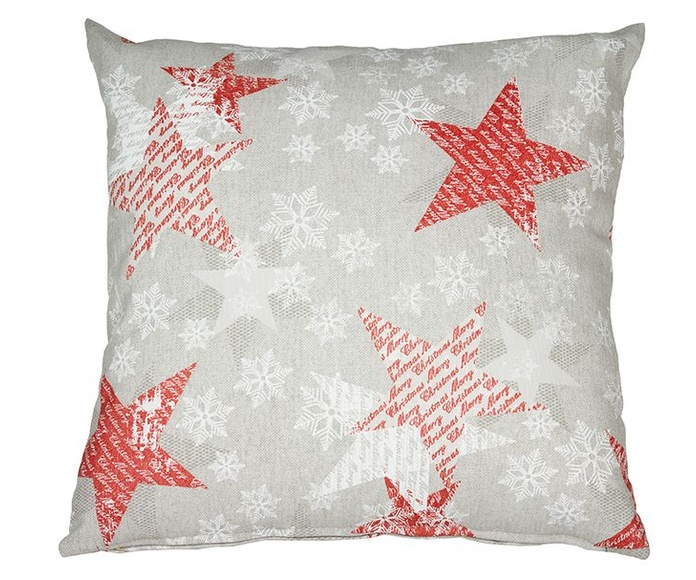 Cojín Navidad rojo - Santiago Pons