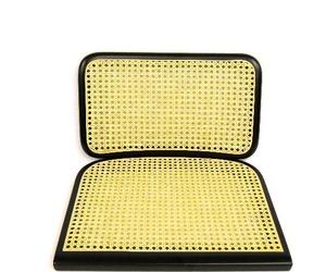 recamvi cadira xesca en color natural i en lacat negre