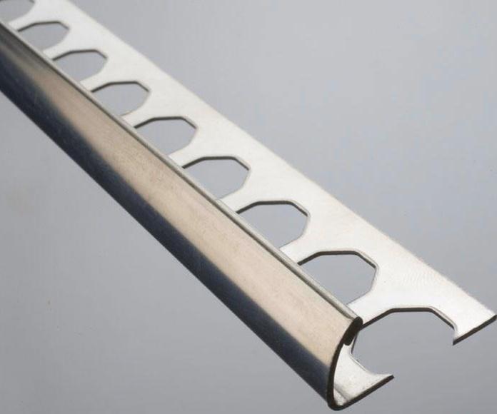 Guardacantos aluminio y acero: Catálogo de Materiales de Construcción J. B.