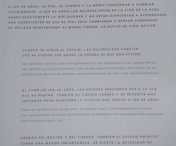 SE TRATA DE ESTAR GUAPA, !!!! NO!!!!!!  DE PARECER JOVEN