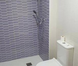 Reforma baño completo, pintura y saneo de paredes en habitacion,