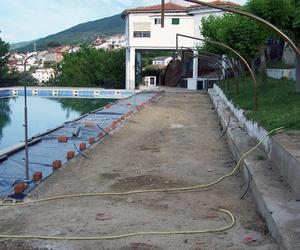 Trabajo realizado en piscina municipal