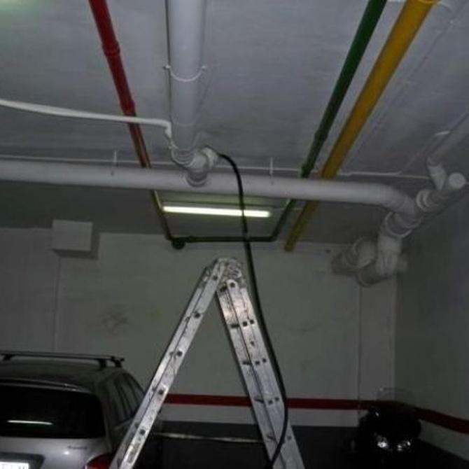 La limpieza tras inspección con cámaras