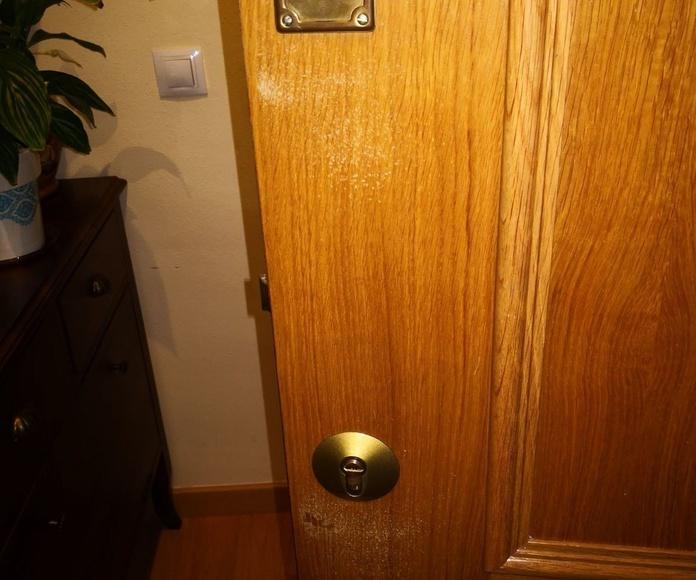 Colocación de cerrojo de alta seguridad (doble cerradura)