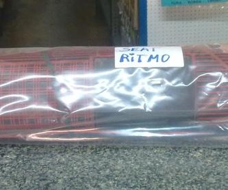 Tubo Escape Silencioso Seat 124: Catálogo de productos de Accesorios y Recambios Rubí
