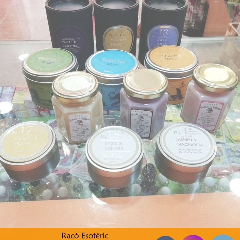 Velas aromáticas: Cursos y productos de Racó Esoteric Font de mi Salut