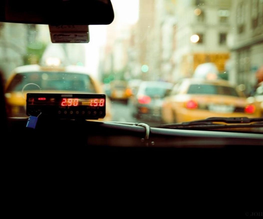 La evolución del taxi y del taxímetro