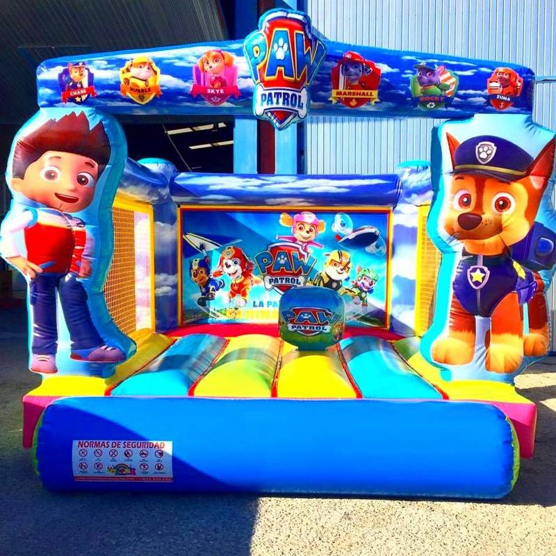 Castillo Hinchable Plataforma 3: Catálogo de Hinchables Happy Jump