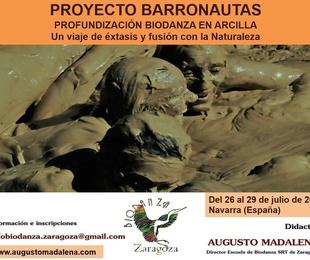 Proyecto Barronautas. Profundización Biodanza en Arcilla 2019