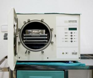 Autoclave - Esterilizador quirúrgico.