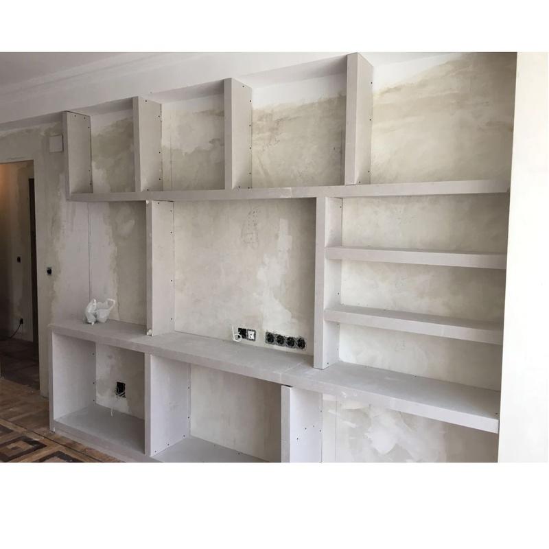Librerías en baldas de pladur: Servicios de Empresa de Pladur Sergio
