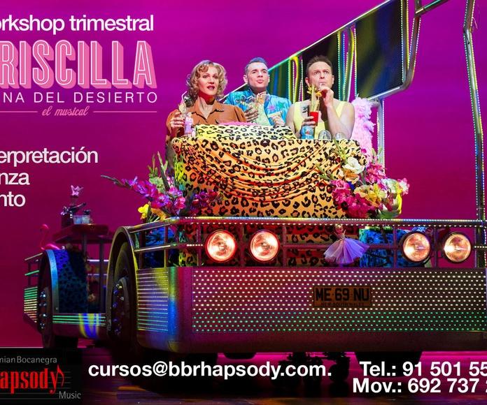 PRISCILLA, REINA DEL DESIERTO: Catálogo formación de Bohemian Bocanegra Rhapsody Music