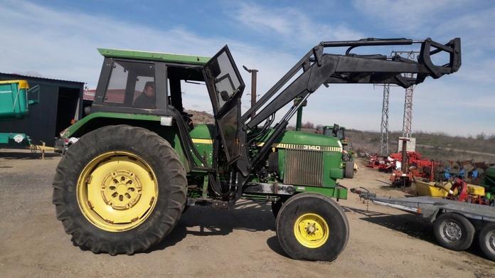 John Deere 3140: Nuestros tractores de Tractores José Carlos Martín
