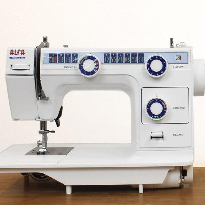 Alfa 393: Productos de Maquinas de Coser - Servicio técnico y repuestos