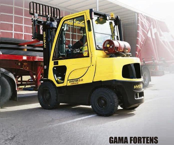Gama Fortens Carretillas elevadoras diésel y GPL: Productos y servicios  de Intzia Comercial