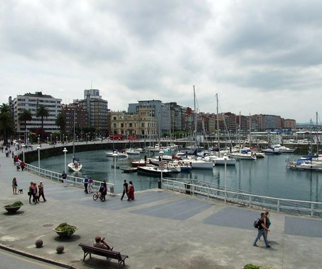 Gijón sigue siendo uno de los destinos más  elegidos para disfrutar
