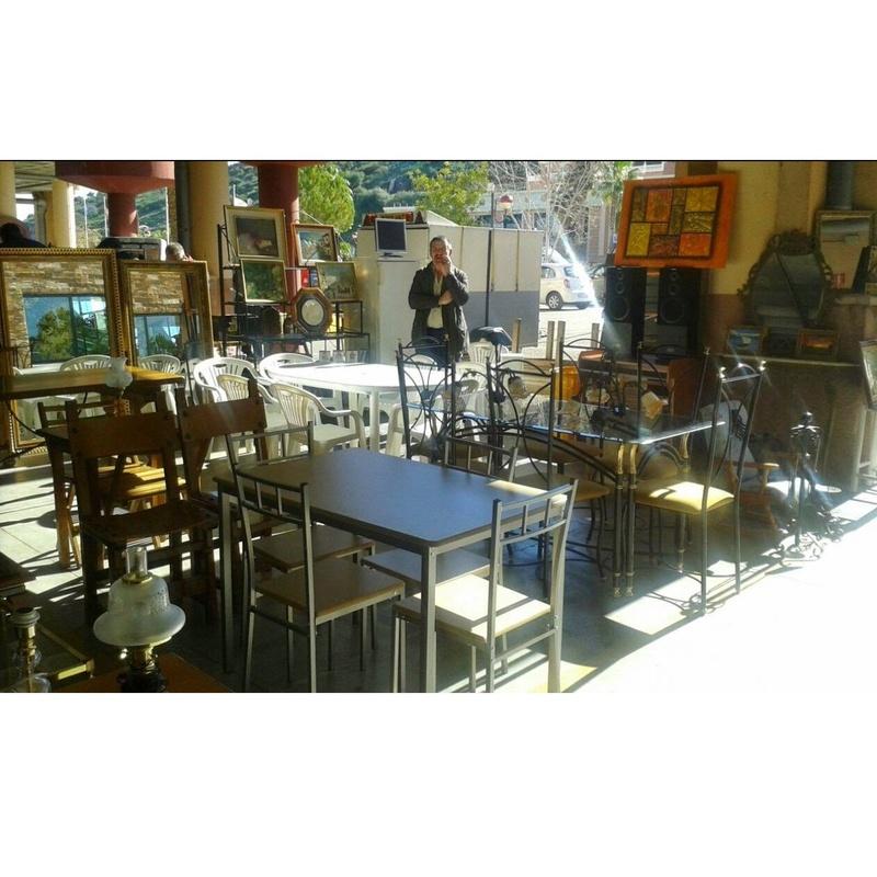 Mesas y sillas: Productos y servicios de Remar Málaga