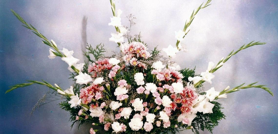 Coronas de flores en Vallecas y centros florales