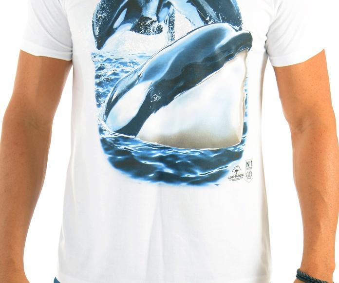 Camiseta Hombre 3 Orcas: Productos de BELLA TRADICION