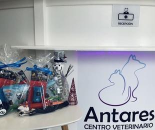 Llega la navidad al Centro Veterinario Antares !