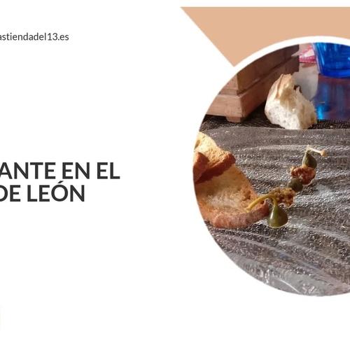 Restaurante vinoteca en León | La Trastienda del 13