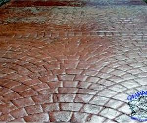Pavimento de hormigón impreso en Ourense