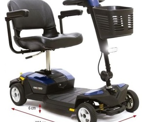 Scooter con suspensión GO-GO LX