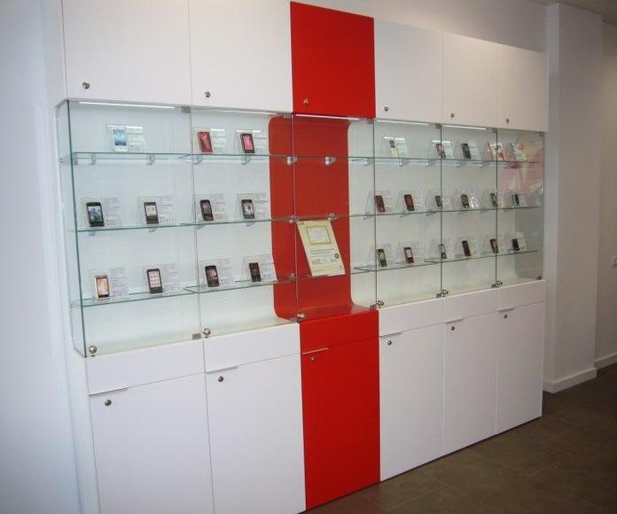 TIENDAS DE TELEFONIA: Instalaciones de Europea de Estanterías