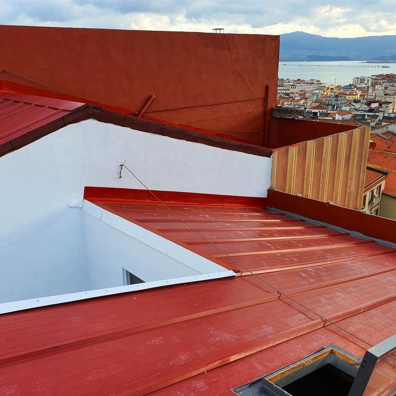 Rehabilitacion de cubiertas y tejados
