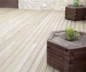 Productos de madera para uso en exterior