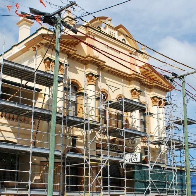 Diferentes sistemas de rehabilitación de fachadas