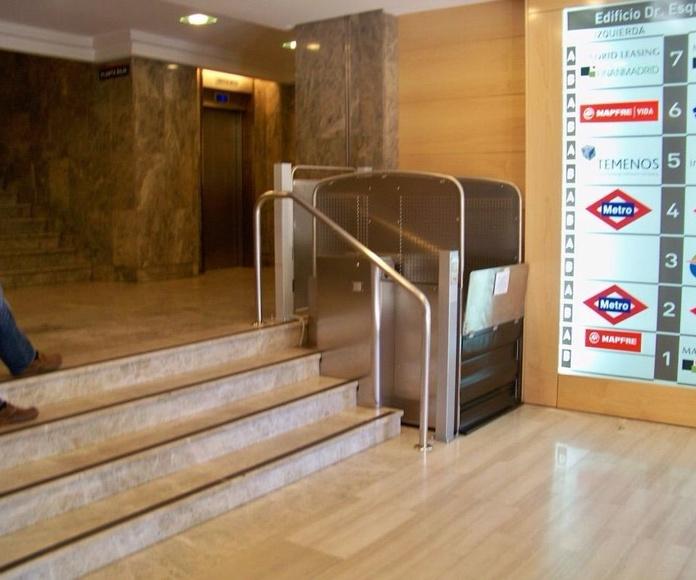 Plataforma vertical S08, Silver: Productos de Elevadores Canarias